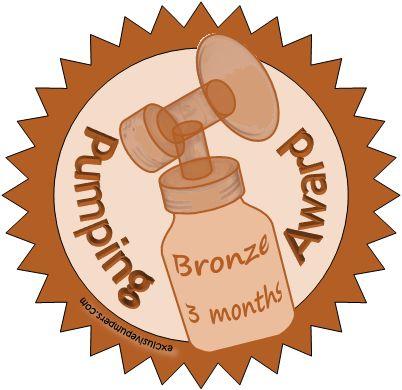 Bronze Pumping Award (3 Months)