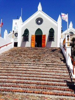 Cute St Peter's Church in St George Town. Loved the smell of Cedar inside.