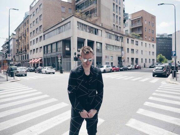 Wearing Tiger of Sweden suit & DIOR sunglasses
