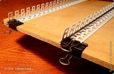 Мастер-класс Поделка изделие Плетение СТАНОК ДЛЯ ПЛЕТЕНИЯ КВАДРАТНОГО ДНА Трубочки бумажные фото 5