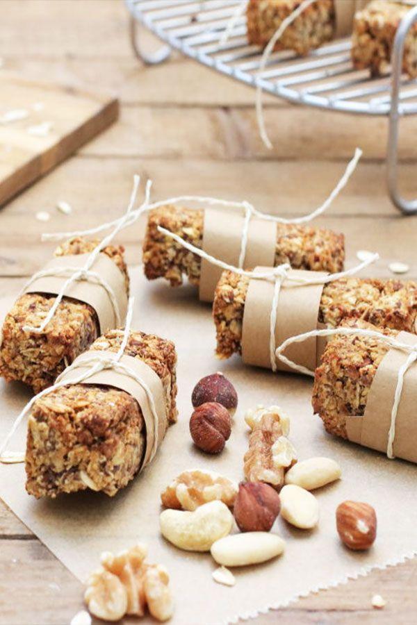 Gesunde Müsliriegel ohne Zucker – Clean Eating Snack mit Airfryer und Backofen
