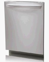 LG LDF6920ST Fully Integrated Dishwasher with 5 Wash Cycles, 3 Spray Arms, SenseClean System, Delay Start, Food Disposer and Self-Clean Filter: Stainless Steel