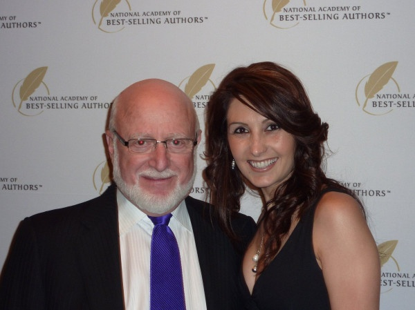 Katrina Kavvalos and Michael Gerber at the National Academy Of Best Selling Authors in NYC