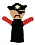$30.00 People Puppet- Pirate from Cate & Levi
