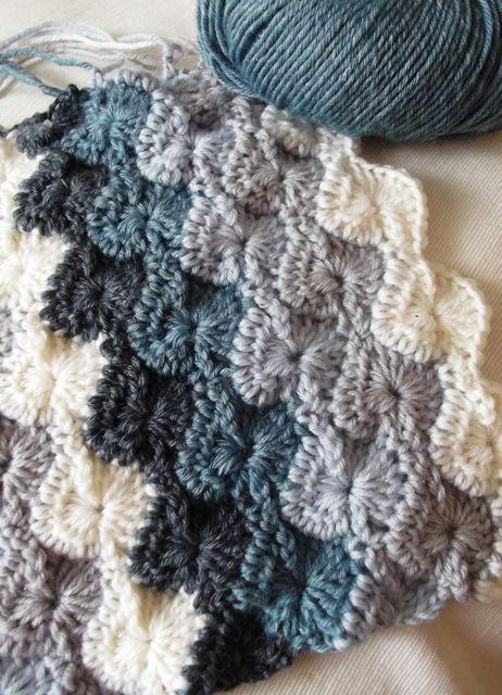 Pretty starburst stitch. #crochet