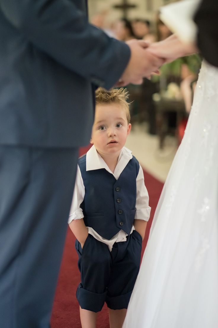 Our little ring security Jason. One cute little boy. Love him so much.