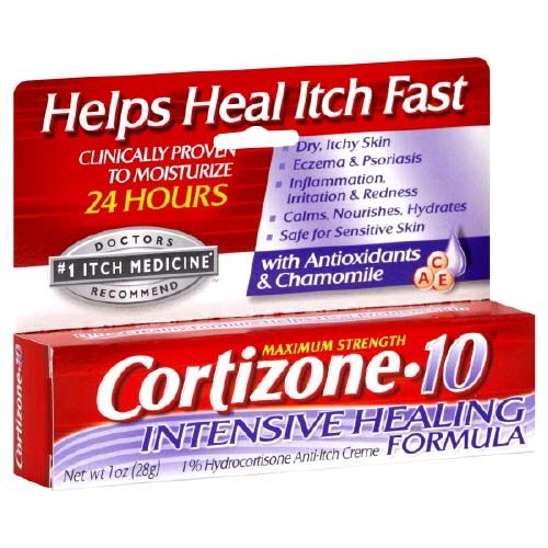 anti itch cream without steroids