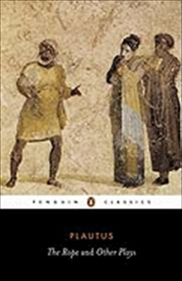 Collection of 4 Greek plays by Plautus - The Ghost, The Rope, A three-dollar day, and Amphitryo.