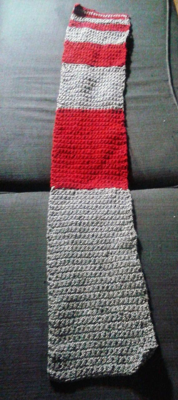 Crochet scarves for the math geek or engineer