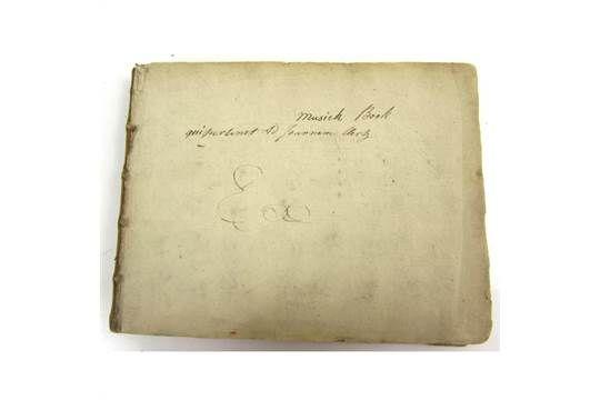Clerk, John, Baronet of Penicuik - Manuscript Scottish Music 39 leaves of musical notation, main