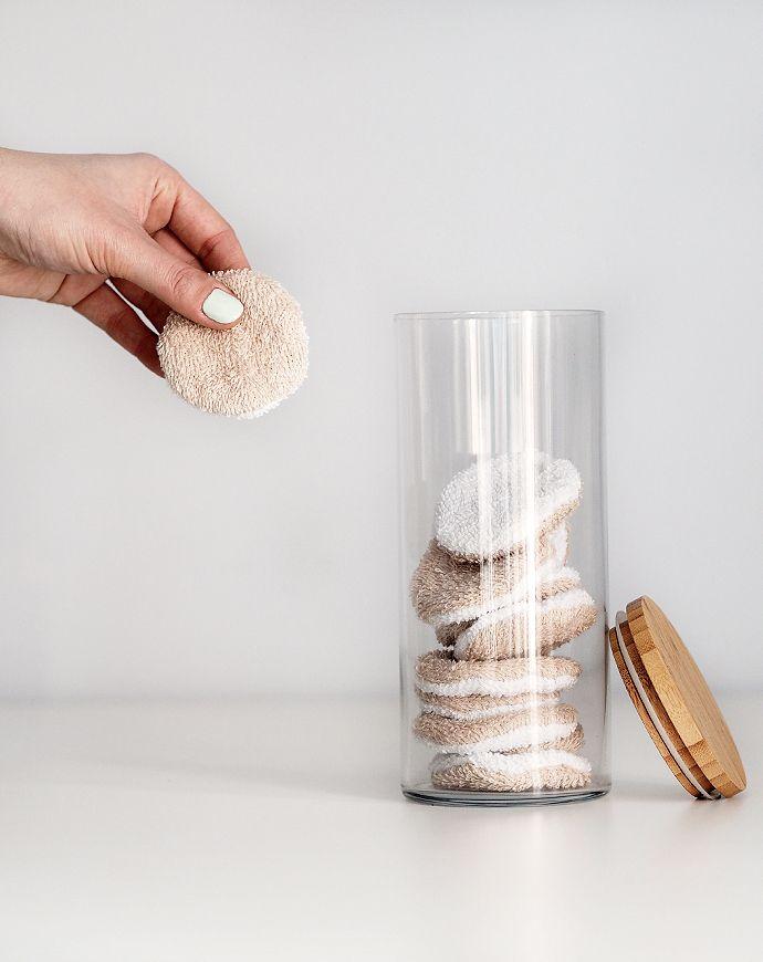 Abschminkpads selber nähen, ein 0€ Upcycling DIY | Sprinzeminze.com