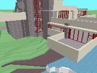 """""""Walk Through"""" a 3-D Building online"""