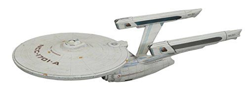 Diamond Select Toys Star Trek VI: The Undiscovered Country: Enterprise A Ship   Diamond Select Toys Star Trek VI: The Undiscovered Country: Enterprise A Ship A Diamond Select Toys release! Finally, the Enterprise-A is getting ready to leave space dock! This 16-inch model of the U.S.S. Enterprise NCC-1701-A features all-new lights, sound and paint, all based on the ship's appearance in Star Trek VI: The Undiscovered Country, making it the perfect companion to DST's Klingon Bird of Pre..