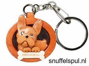 Franse Buldog   Honden Sleutelhangers   Snuffelspul