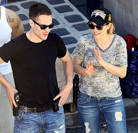 Taylor Kitsch and Rachel McAdams film season two of 'True Detective'