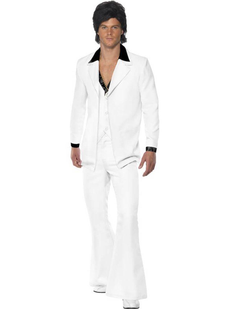 Disfraz de chico marchoso de los 80 para hombre