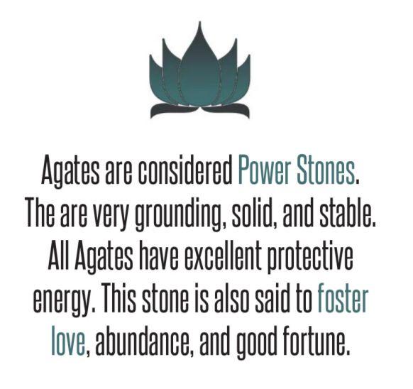 Agates.