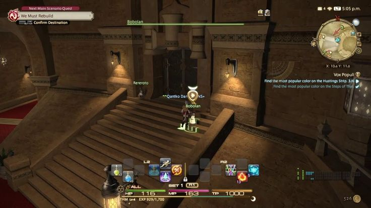 FINAL FANTASY XIV [0009] - [side quest] Vox Populi [Lv2] - YouTube