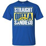 San Diego Chargers T-Shirt - Royal / X-Large