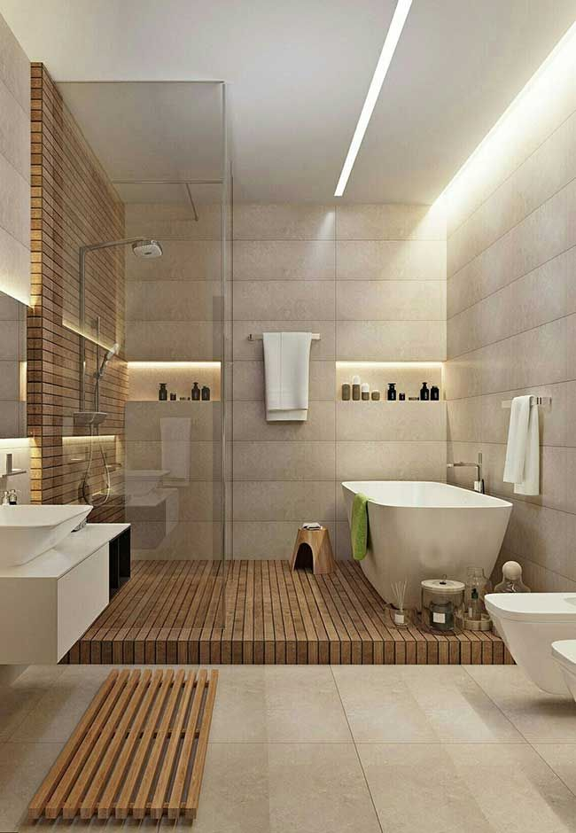 Spa bathroom: discover tips on how to decorate and see 60 ideas