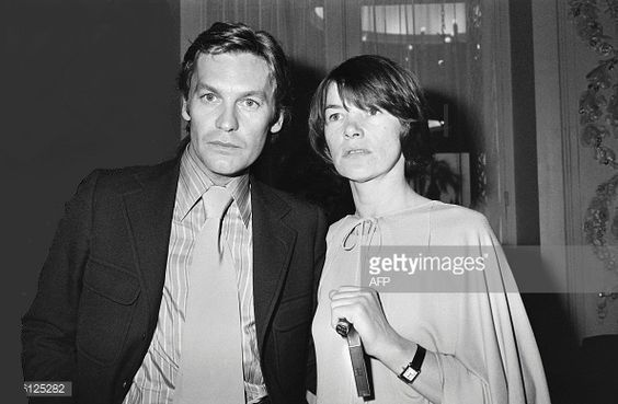 Helmut Berger and Glenda Jackson
