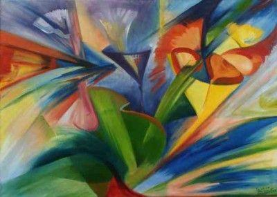 cuadros abstractos al oleo galeria