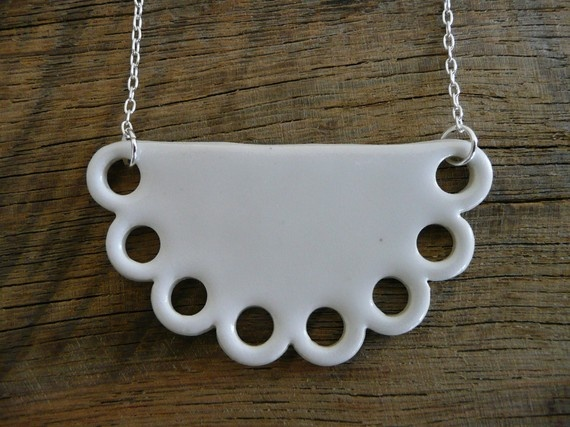 porcelain necklace by andODesign