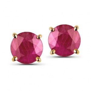 Simply Ruby Earrings