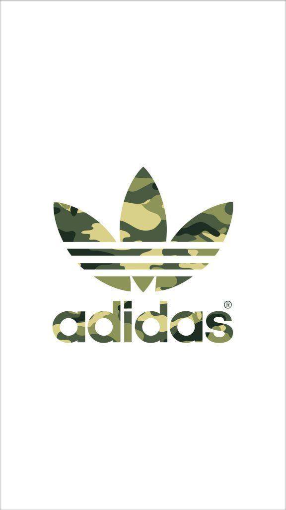 [カモフラ]アディダスロゴ/adidas Logo1iPhone壁紙 iPhone 5/5S 6/6S PLUS SE Wallpaper Background