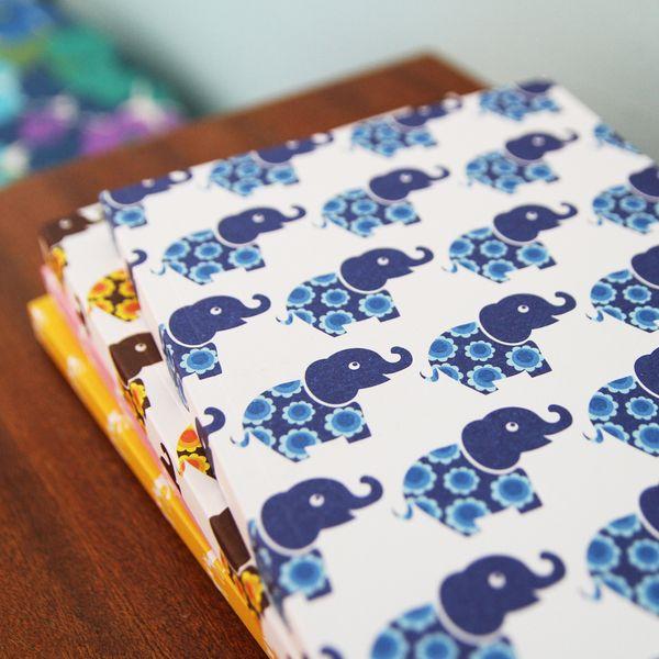 Blafre Σημειωματάριο Με Εξώφυλλο Blue Elephant