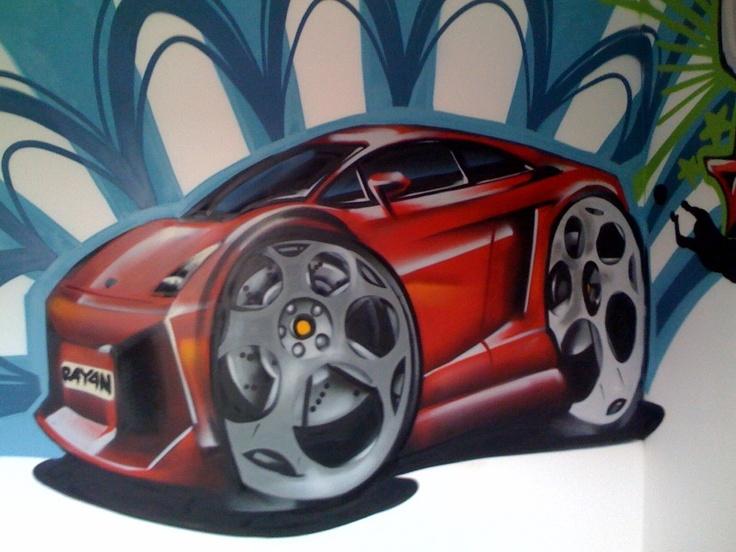 Best Graffiti Images On Pinterest Street Art Graffiti Urban - Bedroom graffiti art for kids