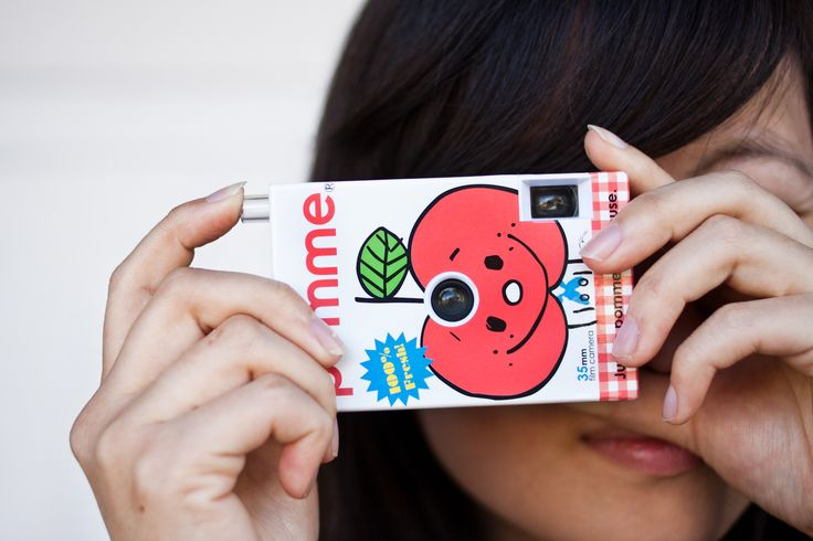 The Juice Box Camera - 100% pure photo joy: a 35mm camera for lo-fi snaps and gorgeous vignetting. ($25.00, http://photojojo.com/store)