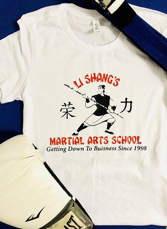 Disney Boys Mulan Script T-Shirt