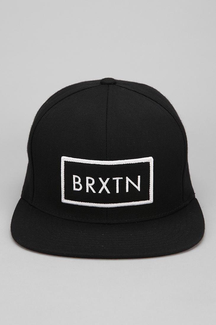 Brixton Rift Snapback Hat #urbanoutfitters