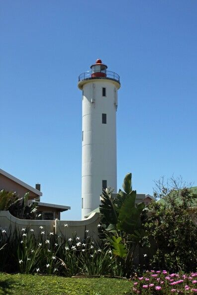 Port Edward lighthouse, Kwa-Zulu Natal, South Africa - 2011.