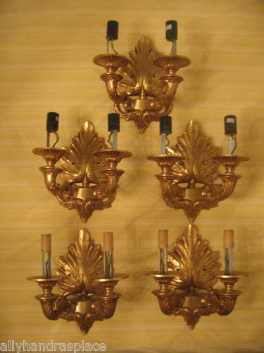 Antique French Empire Style Bronze Wall Sconces Sconce Lamp Lamps Pair    eBay144 best SCONCES images on Pinterest   Sconces  Modern wall lights  . Antique French Lamps On Ebay. Home Design Ideas