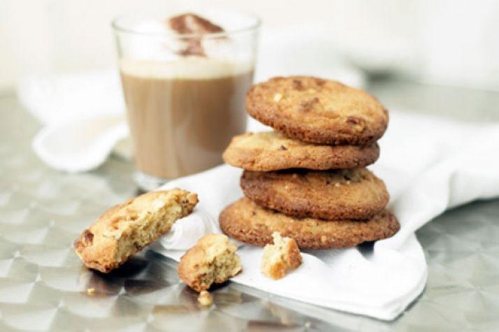 Crispy cookies basert på mandler