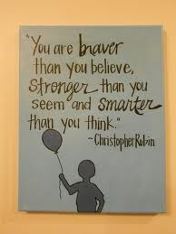 winnie the pooh you are stronger - Google Search
