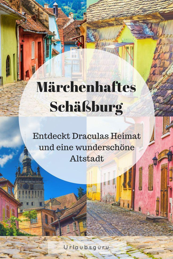 Farbenfroh wie eh und je, von knallig bunt bis pastell zart: Schäßburg – oder auch Sighisoara – gleicht einem Märchenort und verzaubert seine Besucher. Entdeckt das geheimnisvolle Rumänien, taucht ein in die spannende Geschichte der Stadt und begebt euch auf die Spuren Draculas!  #dracula #schaeßburg #rumänien #romania #wonderfulplaces