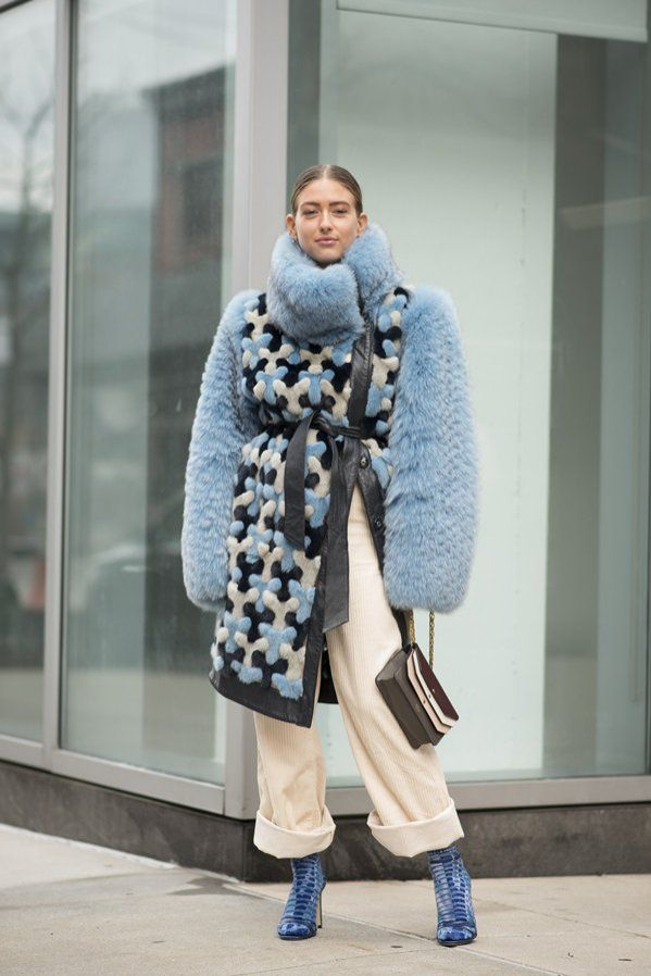 Moda Uliczna Najlepsze Stylizacje Z New York Fashion Week Jesien Zima 2018 19 84 Trendy Fashion New York Fashion Fashion Week