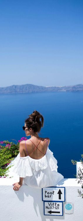 Santorini Greece || places to #getlucky curated by your friends at luckybloke.com