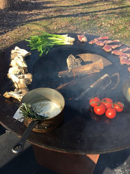 The OFYR (pronounced Oh Fire) Is A New Way To Cook And Grill