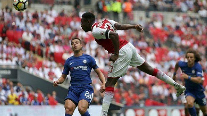 Tak Bisa Rekrut Olivier Giroud, Everton Bakal Datangkan Striker Lain Arsenal, Siapa?