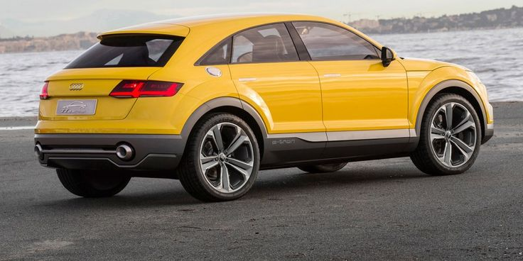 The Audi TT off-road concept is rumoured to go in production as the TTQ