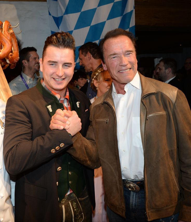 Andreas Gabalier und Arnold Schwarzenegger - www.stanglwirt.com