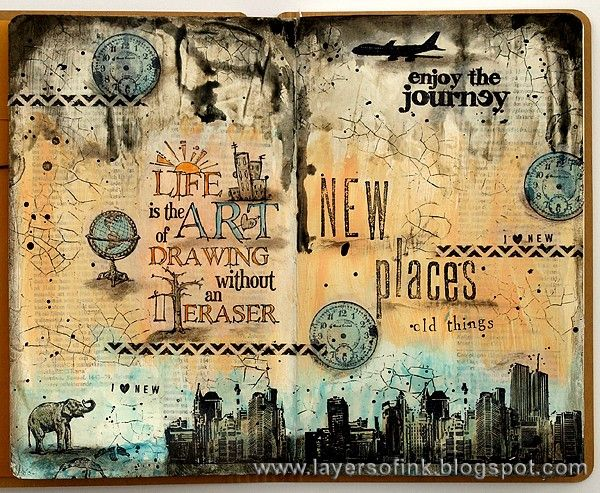 A Blend of Old and New | Simon Says Stamp Blog