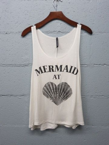 Mermaid at heart tee                                                                                                                                                                                 More