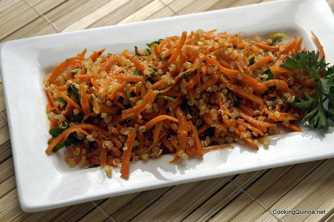 Quinoa Carrot Slaw - Cooking Quinoa