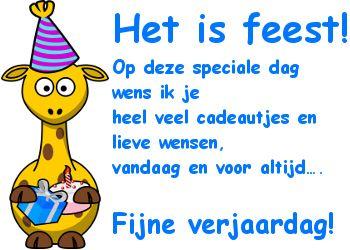 Lieve verjaardagswens op Feest-Plaatjes.nl