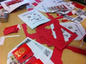 The end asian red envelope history was